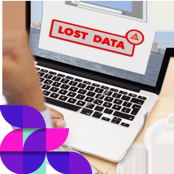 lost data